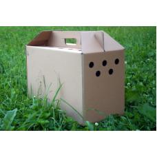 Transportavimo dėžė, kartoninė, vidutinė