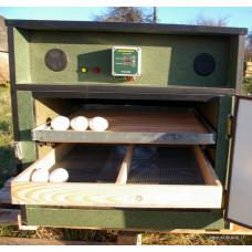 100 kiaušinių pusiau automatinis inkubatorius