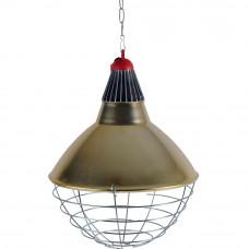 Reflektorius šildymo lempai plataus spindulio