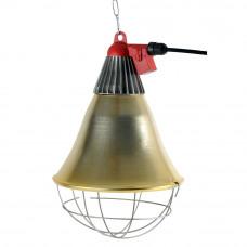 Reflektorius šildymo lempai su jungikliu