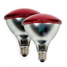 Taupi infraraudonųjų spindulių šildymo lempa, 2 vnt. pakuotė, Interheat